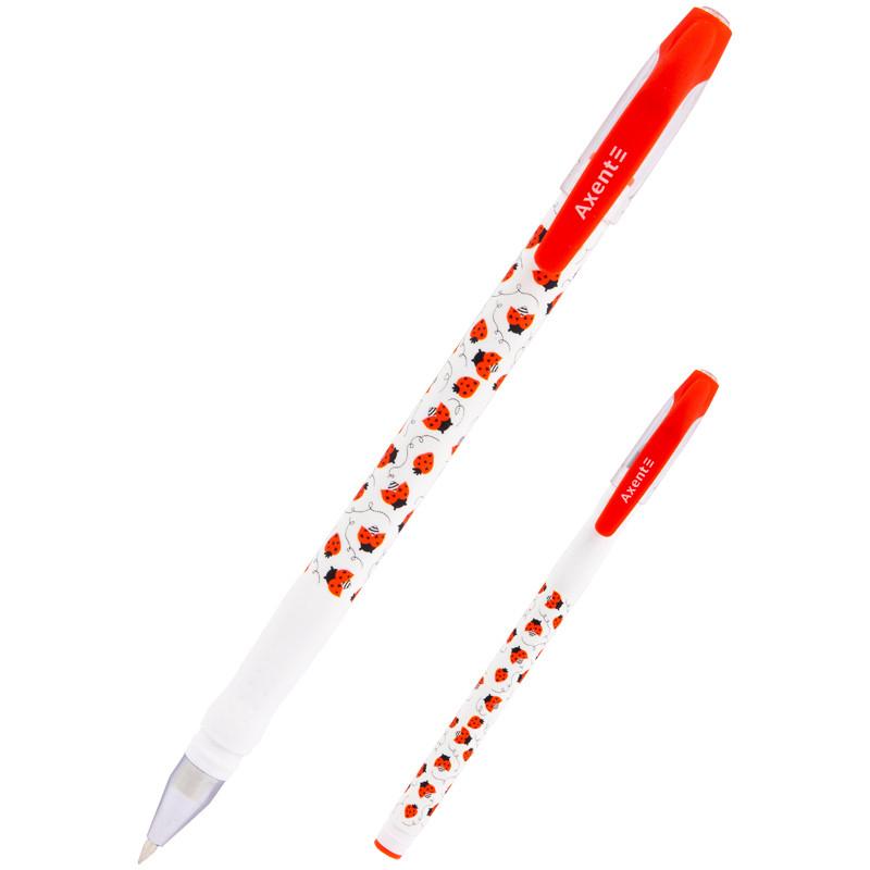 Ручка кулькова Ladybirds, синя