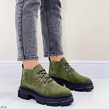 Темно зелені черевики, фото 2