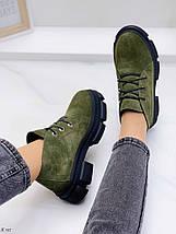 Темно зелені черевики, фото 3