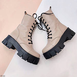 Светлые ботинки 123 (ДБ)