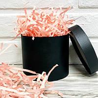 250 грамм Бумажный наполнитель для коробок 4мм  Нежно-Розовый, Пудровый, фото 1