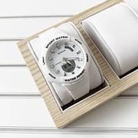 Sanda 6005 White-Silver