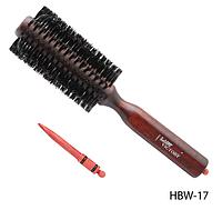 Брашинг на деревянной основе Lady Victory (в комплекте с разделителем прядей) LDV HBW-17 /90-1