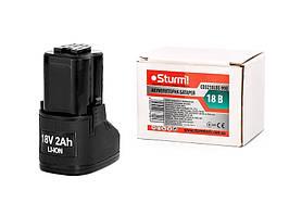 Акумулятор Li-Ion 18В, 2.0 Ач ТМ Sturm