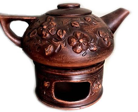 Чайники для заварки, чайники на камине, камины.