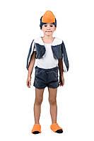 Детский карнавальный маскарадный костюм Гусь мех рост единый:104-122 см