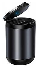 Автомобильная пепельница Baseus Premium Car Ashtray Черный (CRYHG01-01), фото 2