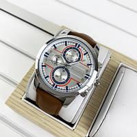 Guardo 012313-2 Brown-Silver-White