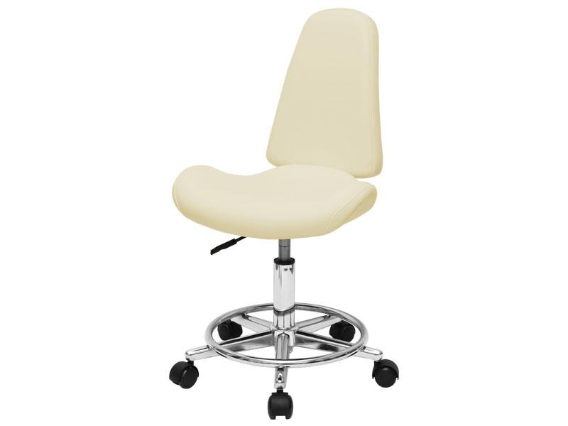 Стільчик майстра для косметолога зі спинкою манікюрні стільці для салону краси мод 827