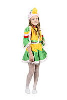Детский карнавальный маскарадный костюм Попугай мех рост:104-122 см