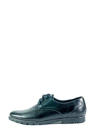 Туфли женские MIDA 21796-1 черные (36), фото 2