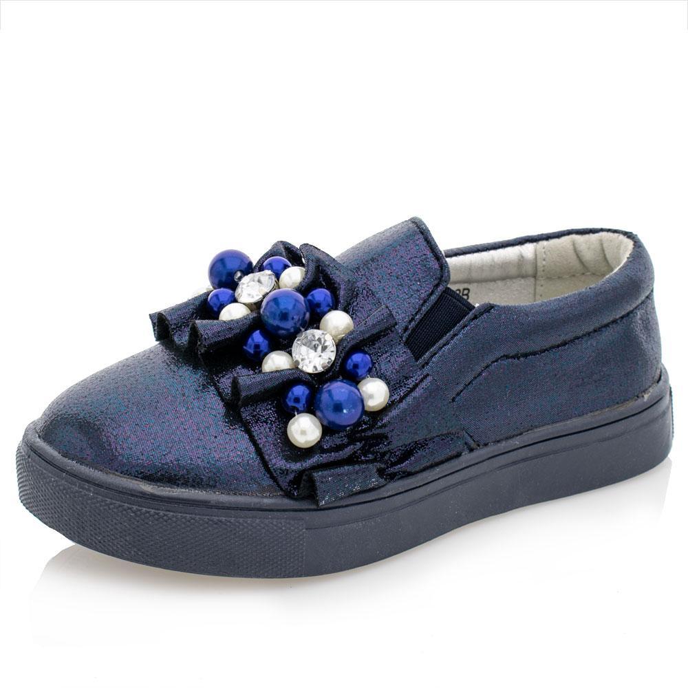 Туфлі для дівчаток Сонце 25 синій ZJ50-2B