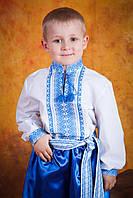 Детская вышиванка для мальчика, размер 26
