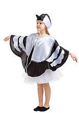 Дитячий карнавальний маскарадний костюм Сорока зростання: від 110 до 134 см