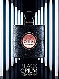 Yves Saint Laurent Black Opium парфумована вода 90 ml. (Ів Сен Лоран Блек Опіум), фото 5