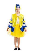 Дитячий карнавальний маскарадний костюм Синиця синичка зростання: від 110 до 134 см