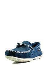 Мокасины подростковые Pegada 340706-05 темно-синие (31), фото 3