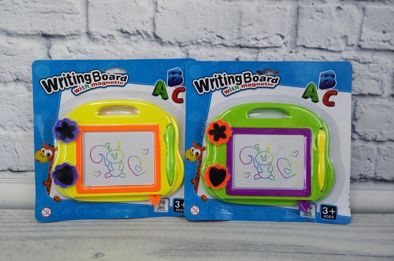 Магнитная, цветная доска для рисования На планшете 338В+