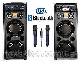 Активна акустична система DP-2329 з двома радіомікрофонами (USB/Bluetooth)
