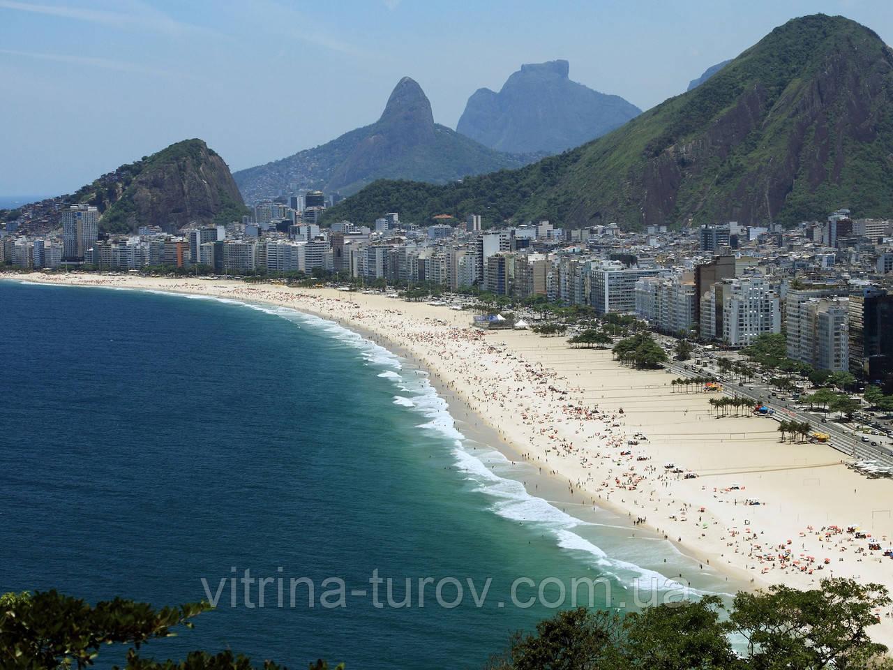 """Екскурсійний тур по Бразилії """"Три Бажання + внутрішні перельоти"""" на 10 днів / 9 ночей"""