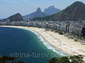 """Экскурсионный тур по Бразилии """"Три Желания + внутренние перелёты"""" на 10 дней / 9 ночей"""