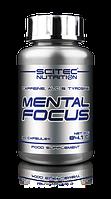 ПРЕДТРЕНИРОВОЧНЫЕ КОМПЛЕКСЫ Scitec Nutrition Mental focus 90 capsules