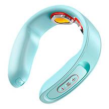 Массажер для шеи с подогревом JOYROOM Neck massager JR-GH103 15 Levels, 2-2.5h