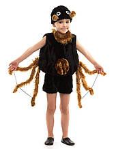 Дитячий карнавальний маскарадний костюм Павук для хлопчика розмір універсальний 104-122 см