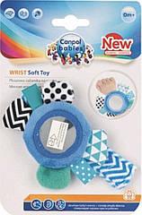 Плюшева іграшка на руку з дзеркалом 0+ Zig Zag синій Canpol babies 68/056