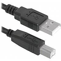 Кабель USB 2.0 (AM-BM) 0,5 м TRY Wire черный новый