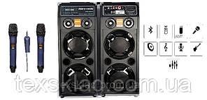Акустика DP-2329 BT з двома радіомікрофонами (USB/Bluetooth)