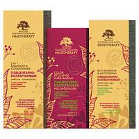 Подарочный набор Биоголд (шампунь+маска+крем) для сухих, окрашеных и поврежденных волос