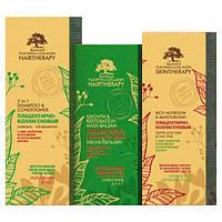 Подарочный набор Биоголд (шампунь+маска+крем) для всех типов волос