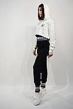 Костюм жіночий SOGO 104 M Білий з чорним двійка, фото 2