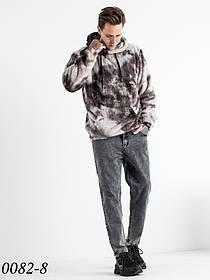 Чоловічі сірі джинси МОМ (чоловічі моми) Relucky 1-0082-8