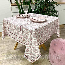 Скатерть на стол Avantime Версаль бордо