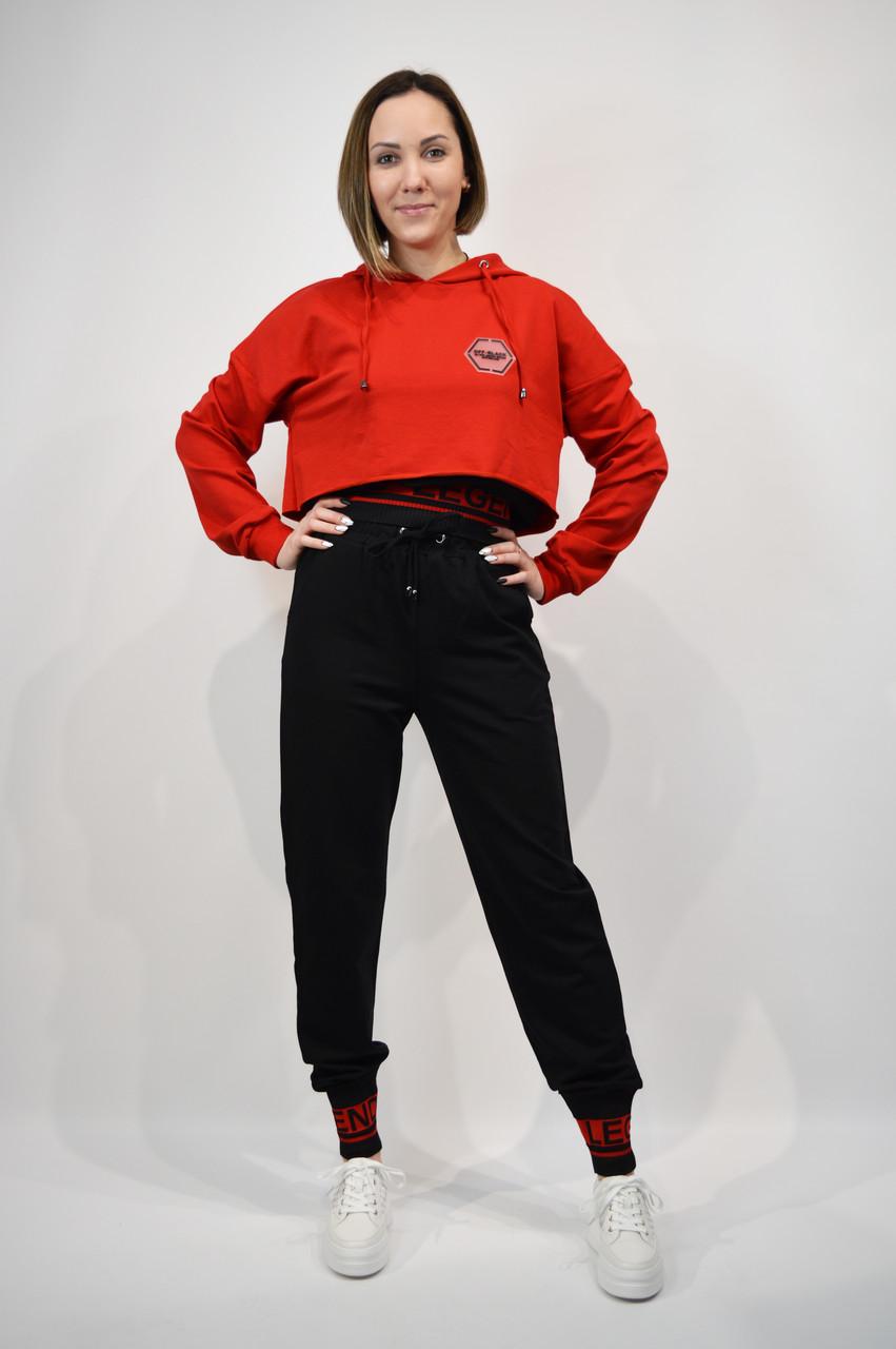 Костюм женский SOGO 104 M Красный с черным двойка