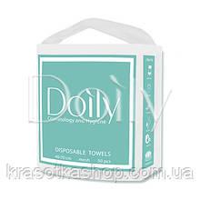 Полотенца одноразовые в пачке Compact Doily 40х70 см (50 шт/пач), гладкие