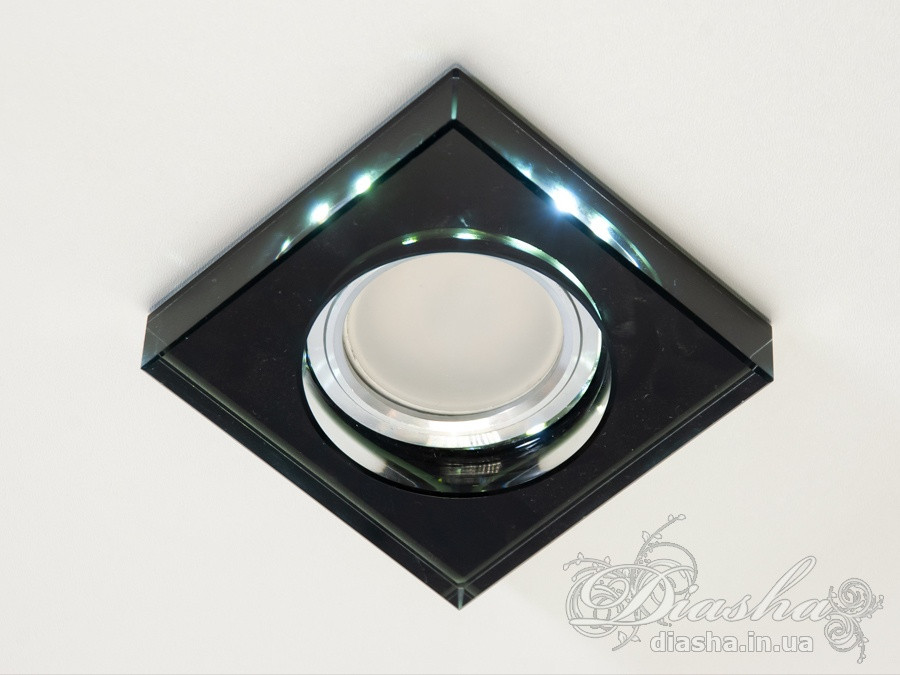 Точкові світильники з підсвічуванням Diasha 6019BK