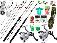 Рыболовные снасти Crocodile,Набор рыболовный, Комплекты рыболовные, Наборы для рыбалки, Наборы рыболова!