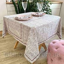 Скатерть на стол Avantime Мираж бордо