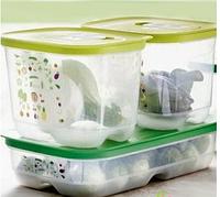 Набор Умных холодильников 1.8л высокий 2шт, 1.8л низкий 1шт Tupperware, фото 1