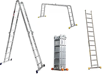 Лестница трансформер 4х5 Практика, алюминиевая