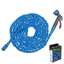 Растягивающийся шланг TRICK HOSE 7,5-22 м, голубой,  WTH722BL