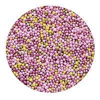 """Посыпка """"Шарики разноцветные (мягкие)"""" 1 мм."""