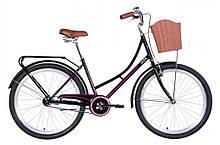 """Велосипед ST 26"""" Dorozhnik Jade 2021 Черный-Розовый"""
