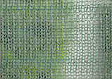 Сітка затінюють, захисна, 40%, 2х120м, AS-CO38200120GR, фото 2