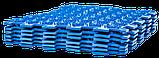 Акупунктурный массажный коврик Лотос 9 элементов, фото 7