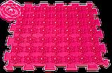 Акупунктурний масажний килимок Лотос 4 елемента, фото 4