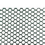 Сітка, для садової огорожі, AS-HEX, 1х25м, AS-HEX15151025GR, фото 2